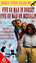 DVD-Cover: Five go mad in Dorset