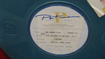 English 16mm positive film reel from Portman Entertainment Ltd.
