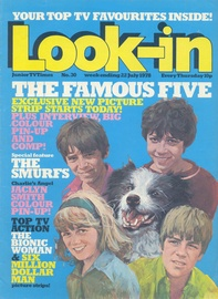 Look-in Cover Ausgabe 1978 nr 30